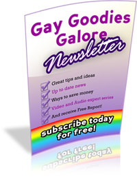gay goodies galore newlsetter